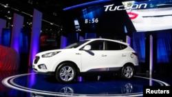 The 2014 Hyundai Tuscon Fuel Cell