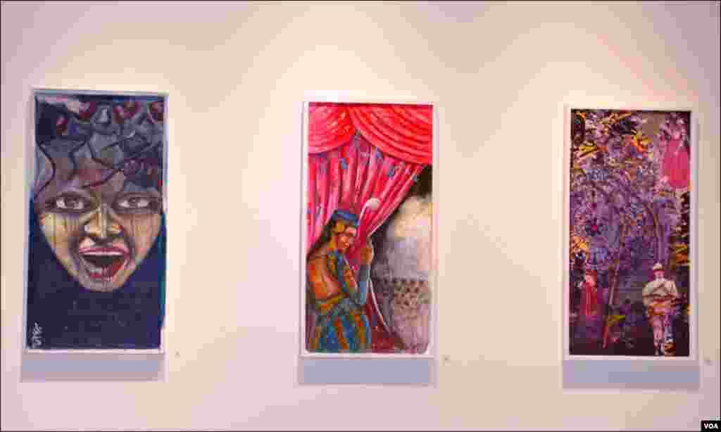 کراچی: نمائش میں 100 سے زائد آرٹسٹوں نے اپنے فن پارے پیش کئے ہیں