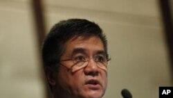 美國駐華大使駱家輝去年12月8號在北京發表演說。