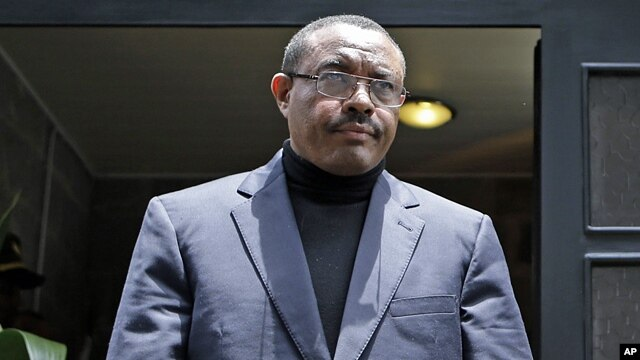 Ethiopia's Prime Minister Hailemariam Desalegn, Aug. 24, 2012.