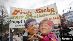 Акція протесту в німецькому Ганновері
