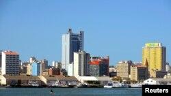 Cidade de Maputo, capital de Moçambique.