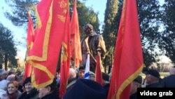 Spomenik Josipu Brozu Titu u Podgorici
