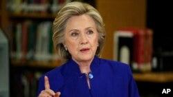 هلری کلینتن کاندید حزب دموکرات در انتخابات ریاست جمهوری