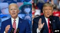 VaJoe Biden vebato reDemocratic Party nemutungamiri wenyika VaDonald Trump, vari kumirira Republican Party musarudzo dzemutungamiri wenyika.