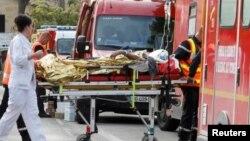 انتقال مجروحان حادثه به بیمارستان