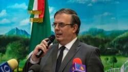 VOA: EE.UU. México evalúan cooperación migratoria