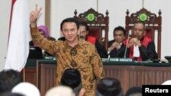 Thủ hiến Basuki Tjahaja Purnama giành được khoảng 43% phiếu trong vòng bỏ phiếu đầu tiên.