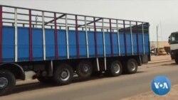 Grève des camioneurs au Burkina