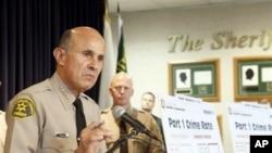 Lee Baca, Kepala Kepolisian Los Angeles menegaskan akan mengejar para pelaku perdagangan manusia dan mucikari (foto: dok).
