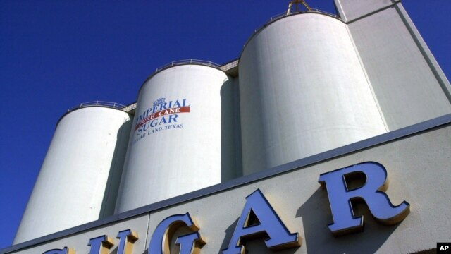 FILE: Imperial Sugar, one of three U.S. sugar refiners to raise prices this week, has a plant in Houston, Texas.