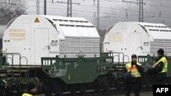 11 kontenierë me mbetje bërthamore mbërrijnë në Gjermani