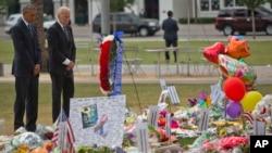 در سفر باراک اوباما به اورلاندو، جو بایدن نیز وی را همراهی کرد.