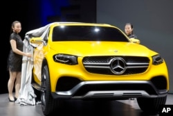 "While the name ""Mercedes"" may be common in other countires, in the U.S. it brings to mind luxury automobiles. (AP PHOTO 2015)"