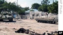索马里首都冲突20多人死亡