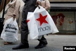 미국 뉴욕 브룩클린의 쇼핑객들.