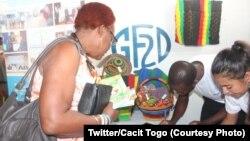 Foire des droits de la femme à Lomé, 30 août 2018. (Twitter/Cacit Togo)