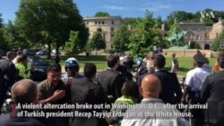 Nine Hurt in Violent Demonstration at Turkish Ambassador's Residence