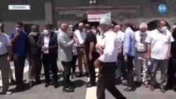 """Diyarbakır'da """"Tedirgin Olma Aşı Ol"""" Çağrısı"""