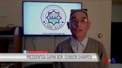Prezidentga gapim bor: Olimjon Sharipov
