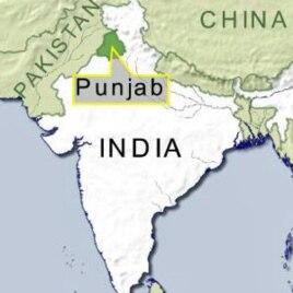 Punjab state, India