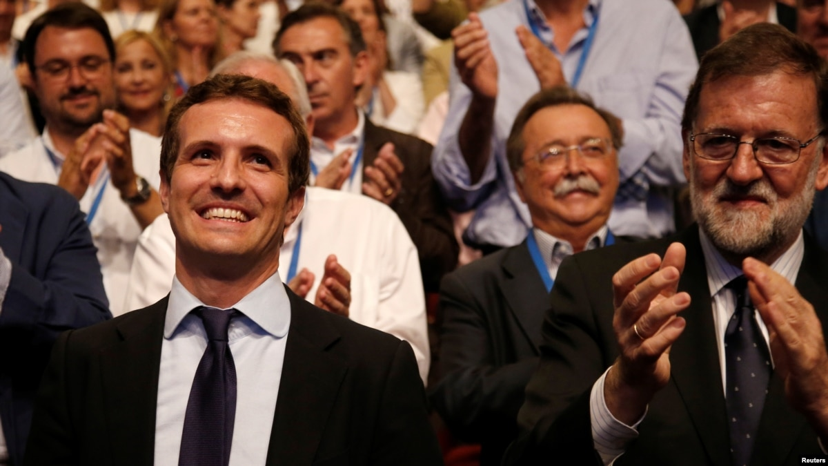 Spain's Conservatives Swing Right With New Leader