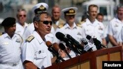 Đô đốc Harry Harris cho biết rằng Bắc Kinh vẫn tiếp tục hành động một cách 'hung hăng' và rằng Hoa Kỳ luôn sẵn sàng đối phó. (Ảnh tư liệu)