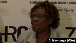 Sheila Matindike of the government-appointed Zimbabwe Human Rights Commission says in Harare (January 22, 2019) at least eight people died from excessive force by the army and police that used live ammunition during the protests.