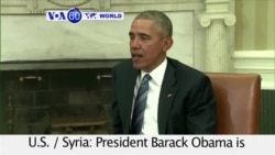 VOA60 World PM - Obama Cautious on Whether Syria Cease-Fire Will Lead to Peace