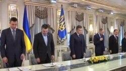烏克蘭抗議者不顧和平協議仍在首都聚集