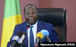 Le Premier ministre Clément Mouamba, à Brazzaville, au Congo, le 16 mai 2017. (VOA/Ngoussou Ngouela)