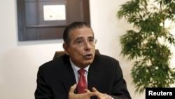 Ramon Fonseca, salah satu pendiri firma hukum Mossack Fonseca, saat diwawancarai Reuters di kantornya. Panama City, Panama.