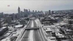 罕見冬季風暴令美國南部陷入癱瘓