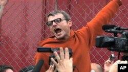 占领华尔街运动的抗议者(资料照片)