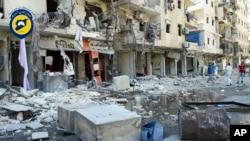 发生在叙利亚阿勒颇的空袭(2016年9月9日)