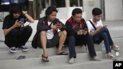 Maraknya penggunaan media sosial menyebabkan polarisasi masyarakat yang semakin meningkat (foto: ilustrasi).
