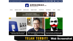 Website Islami di Indonesia