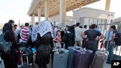 آوارگان سوریه در مرز ترکیه