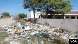 Lixo contribui para a malária