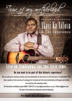 Interview With Musician Nkosi Ndlovu on Gospel, Development Issues