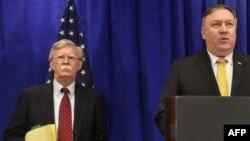 وزیر خارجه آمریکا و مشاور امنیت ملی جداگانه به این اقدام ایران واکنش نشان دادند.
