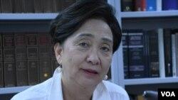 Emili Lau, bivša predsednica Demokratske partije Hong Konga