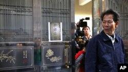 中国广东陆丰市乌坎村村党总支书记林祖銮(资料照片)