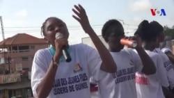 Une association féministe lutte contre le mariage précoce en Guinée