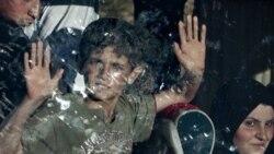 ديپلمات های اروپايی از آوارگان سوری در جنوب ترکيه ديدن کردند