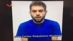 Venezuela muestra presunta confesión de legislador Requesens