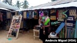Mercado na Vila de Palma, Cabo Delgado