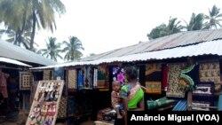 Mercado vila de Palma, Cabo Delgado, Moçambique