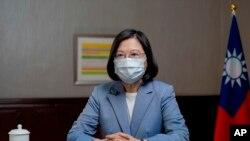 台灣的總統蔡英文。
