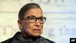 Supreme Court Justice Ruth Bader Ginsburg criticized presumed Republican presidential candidate Donald Trump in multiple recent interviews.